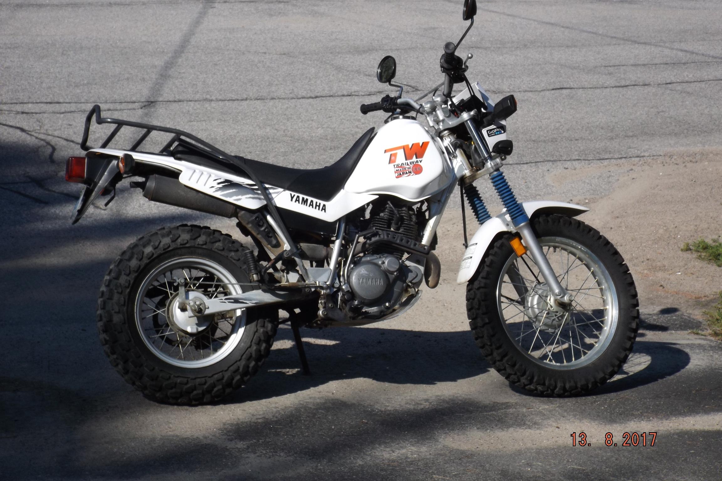 Yamaha TW200 Trail Way Trailway Motorcycle Custom Funny Decal Sticker