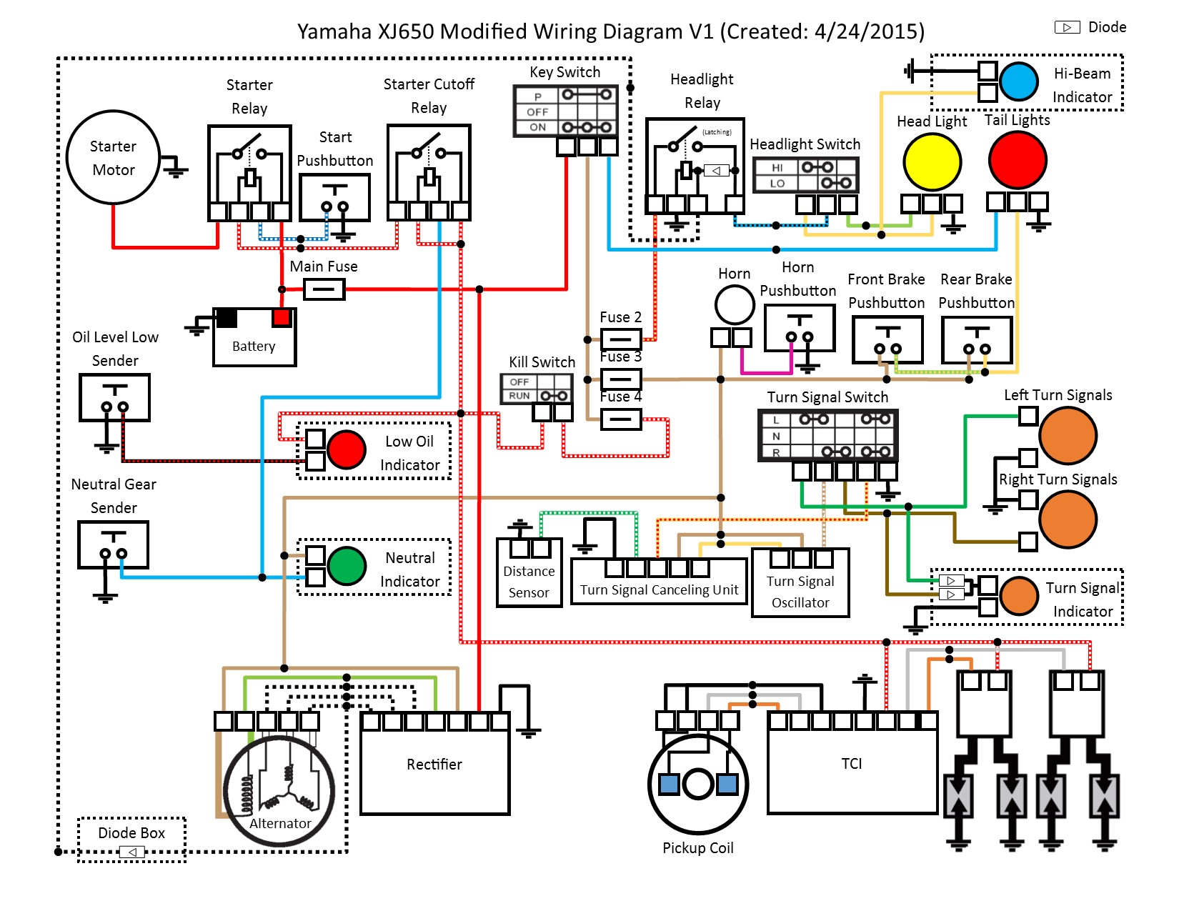 96 TW200 Electrical Question | Page 2 | TW200 Forum | Tw200 Wiring Diagram |  | TW200 Forum