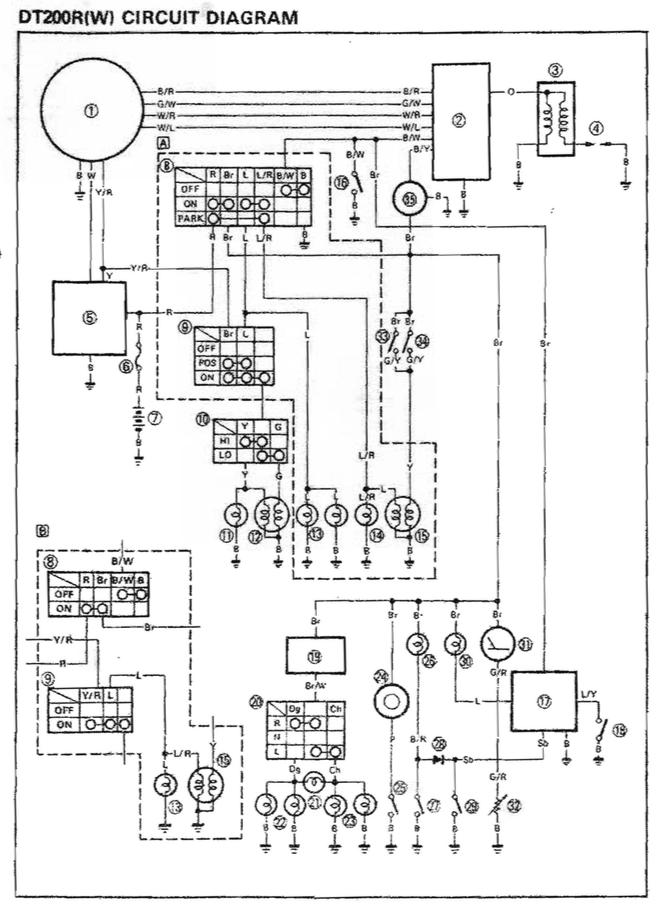 Yamaha Dt 200 Wiring Diagram